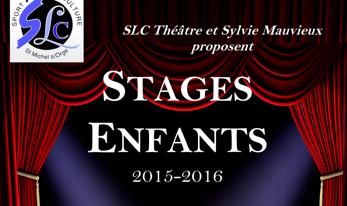 Stages Enfants 2015/2016