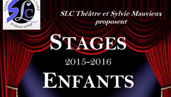 Stages enfants et adultes Février et Avril 2016 – SLC