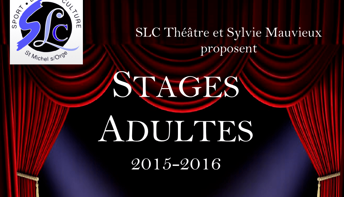 Stages Adultes 2015/2016